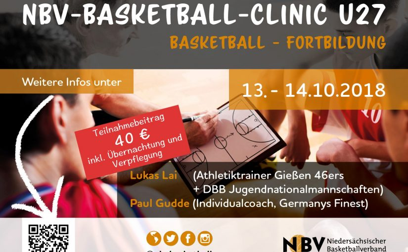 NBV Basketball Clinic in Nordhorn